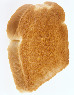 Piece of toast.